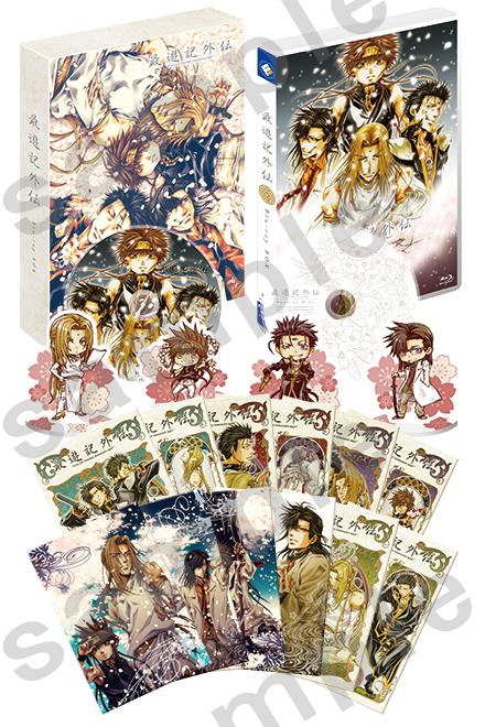 OVA『最遊記外伝』BD BOXの全容が公開!