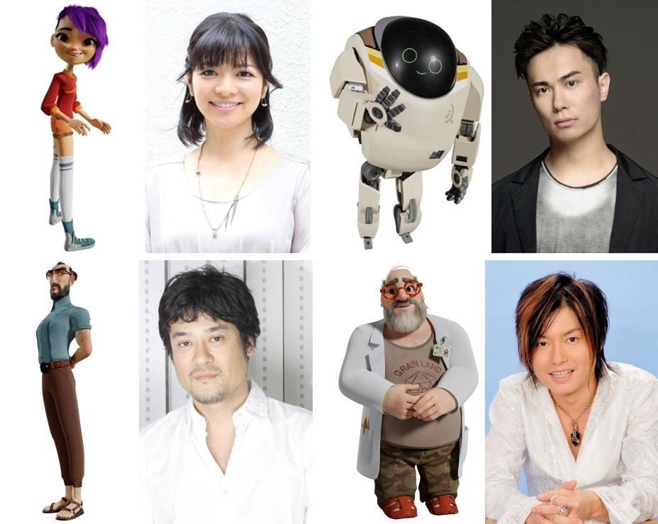 『ネクスト ロボ』鈴木達央ら豪華声優陣による日本語版予告公開