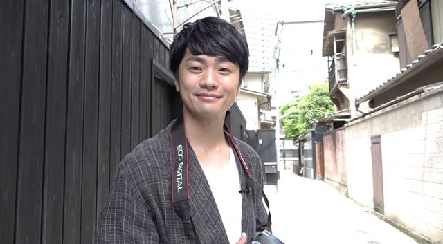福山潤がカメラ片手に神楽坂へ~『声優カメラ旅』第3話、8月25日初配信