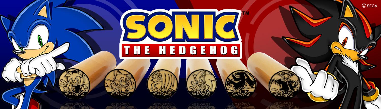 『ソニック・ザ・ヘッジホッグ』の痛印18種が発売決定