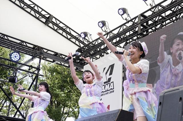 アニサマけやき広場で実施RGRのスペシャルライブ公式レポ到着!