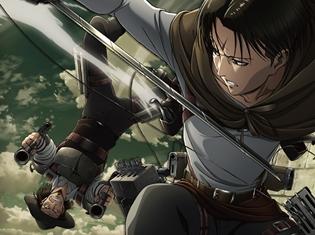 TVアニメ『進撃の巨人』Season3 Blu-ray&DVD第1巻ジャケットが公開! 第1巻の絵柄にはリヴァイとケニーが登場!