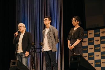 ▲左から菅野顕二さん、黒木類さん、西田映美子さん