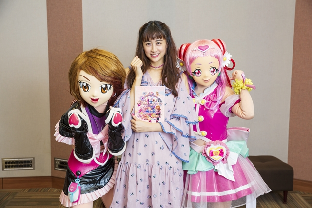 『映画HUGっと!プリキュア ふたりはプリキュア』ゲスト声優に山本美月