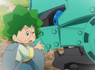 TVアニメ『ゾイドワイルド』第9話あらすじ&先行場面カットが到着! オニギリと相棒ガノンタスとの出会いとは……
