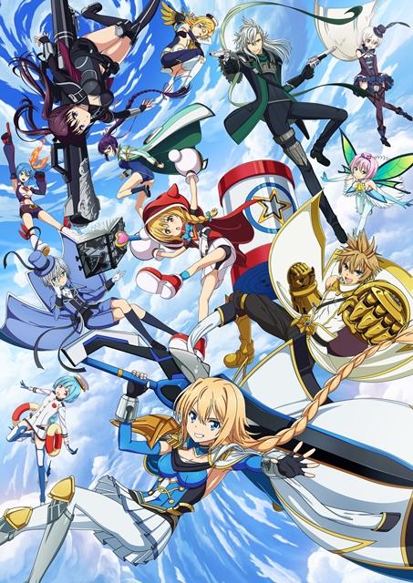 TVアニメ『叛逆性ミリオンアーサー』2019年4月に第2シーズンの放送が決定