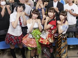 『Back Street Girls -ゴクドルズ-』最終回直前プレミアムイベントより、公式レポート公開! ゴクドルズ虹組が、主題歌を初めて生披露