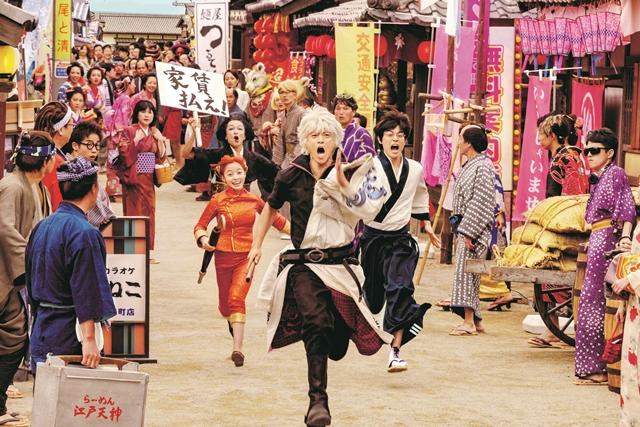 『銀魂2』前作を2日間上回るスピードで、興行収入25億円を突破!