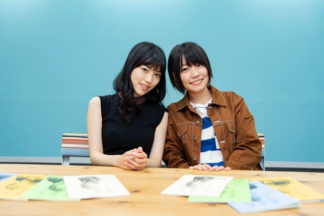 秋アニメ『色づく世界の明日から』石原夏織×本渡楓インタビュー