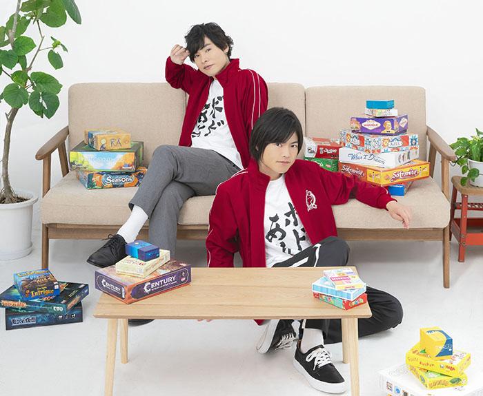 岡本信彦/堀江瞬 出演『ボドゲであそぼ』DVD特典映像の試聴動画が公開中