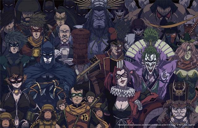 『ニンジャバットマン』岡崎能士描下ろしカバーアート初公開