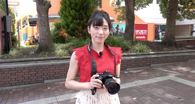 『声優カメラ』第4話は鈴木絵理が多摩センターを巡る