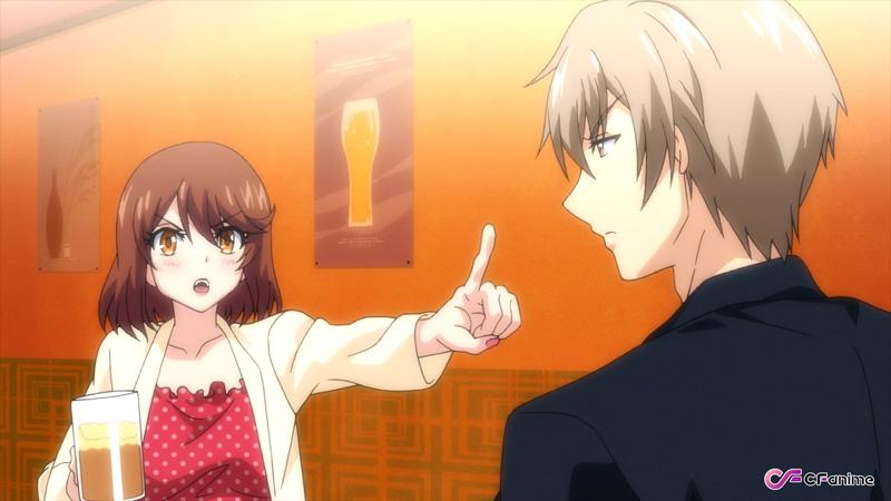 秋アニメ『終電後、カプセルホテルで、上司に微熱伝わる夜。』第5話先行カット公開! 2人は職場で抑えきれない衝動をぶつけ合う-3