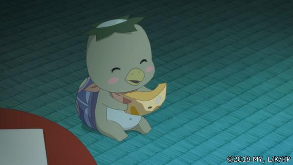 『かくりよの宿飯』最終話「あやかしお宿に美味い肴あります。」の先行場面カット公開! 葵は海坊主が自分と同じ思いを抱えていた事を知る-13