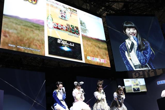 尾崎由香さん、本宮佳奈さん、根本流風さん、山下まみさんが登壇したセガゲームス新プロジェクト発表ステージをレポート!【TGS2018】-4