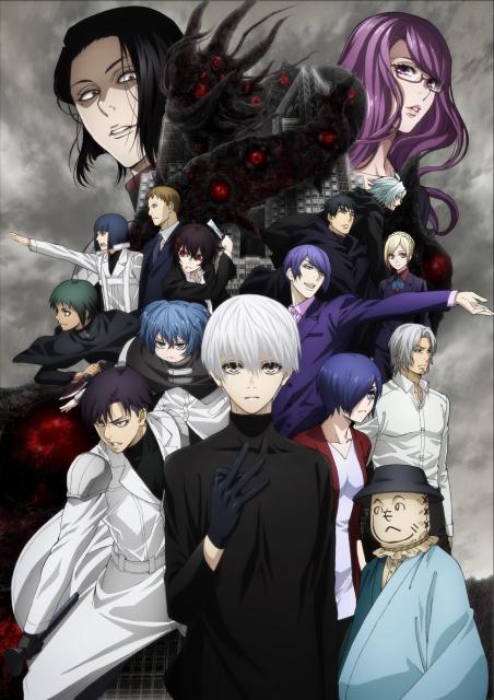 秋アニメ『東京喰種:re』最終章の先行WEB上映が開催