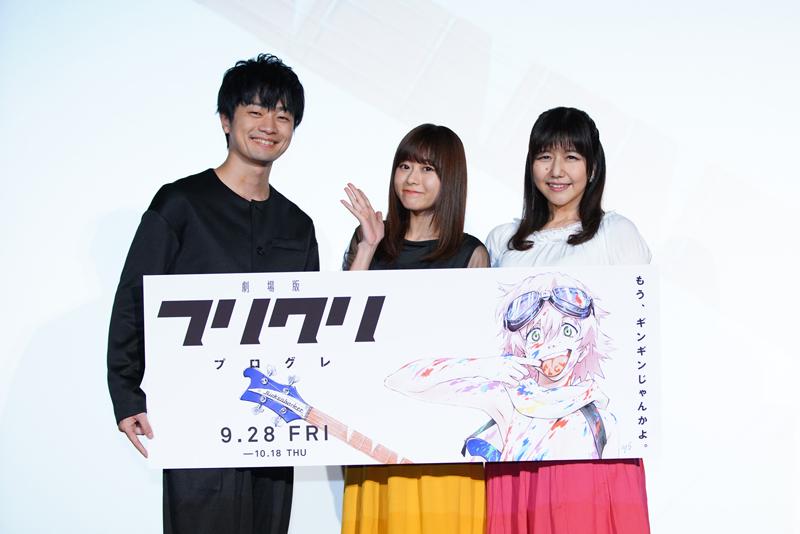▲左から福山潤さん、水瀬いのりさん、井上喜久子さん
