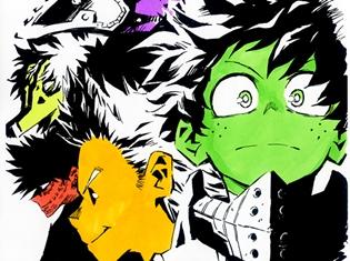 『僕のヒーローアカデミア』TVアニメ第4期制作決定! キャラデザイン・馬越嘉彦氏による記念イラストも公開