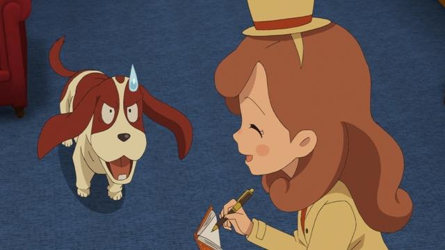 『レイトン ミステリー探偵社 ~カトリーのナゾトキファイル~』第24話の先行カット公開! 盗まれたビッグベンの針を見つけ出せ!-4