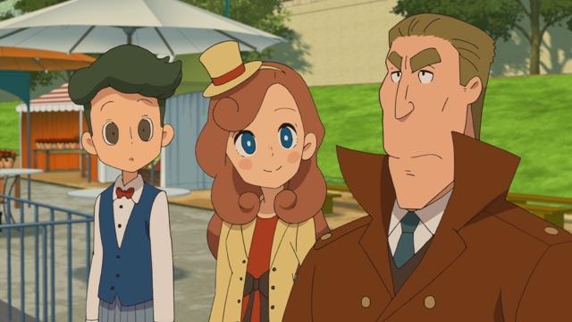 『レイトン ミステリー探偵社 ~カトリーのナゾトキファイル~』第25話より、先行カット公開! 『テムズ川の伝説』に類似した事件が起きてしまい……