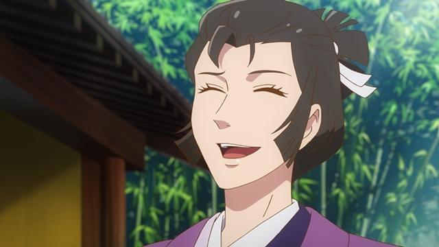 『つくもがみ貸します』第11話「似せ紫」より先行場面カット公開! 勝三郎と早苗、幸之助とおはなの4人を招き、茶会を開こうと……-5
