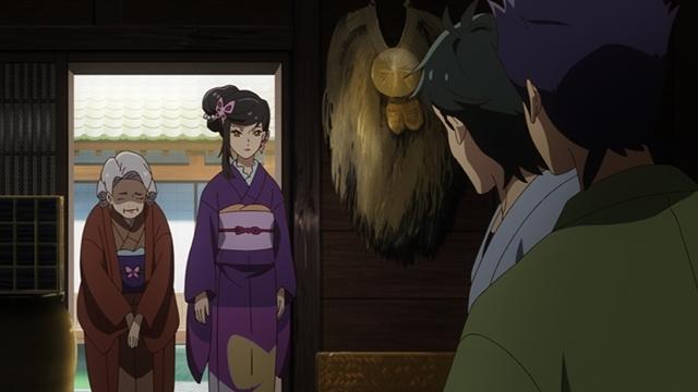 『つくもがみ貸します』第11話「似せ紫」より先行場面カット公開! 勝三郎と早苗、幸之助とおはなの4人を招き、茶会を開こうと……-6