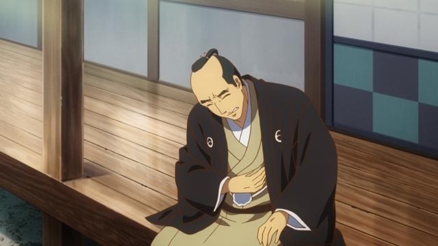 『つくもがみ貸します』第11話「似せ紫」より先行場面カット公開! 勝三郎と早苗、幸之助とおはなの4人を招き、茶会を開こうと……-2