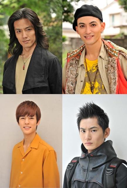 ▲上段左から、半田健人さん、永瀬匡さん / 下段左から、奥野壮さん、押田岳さん