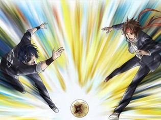 TVアニメ『学園BASARA』より第1話「天下分け目のグラウンド争奪戦!」のあらすじ&先行場面カットが到着! グラウンドの使用権を巡って、伊達政宗と真田幸村がバトル