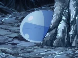 TVアニメ『転生したらスライムだった件』より、第2話「ゴブリンたちとの出会い」の場面カット&あらすじが到着! リムルは暴風竜の封印を解こうとするが……