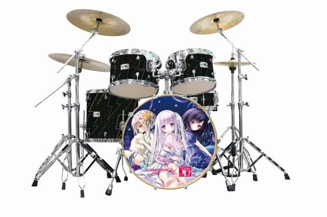 【グッズ-セットもの】天使の3P! ドラムセット/CANOPUSコラボ