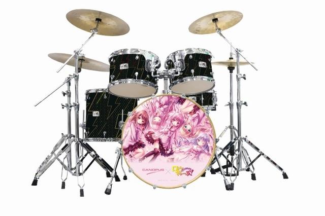 【グッズ-セットもの】ロウきゅーぶ! ドラムセット/CANOPUSコラボ