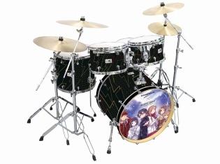 『SAO』『天使の3P!』『とある魔術の禁書目録』など「電撃文庫」の人気作品とドラムメーカー「CANOPUS」とコラボしたドラムセットが発売決定!