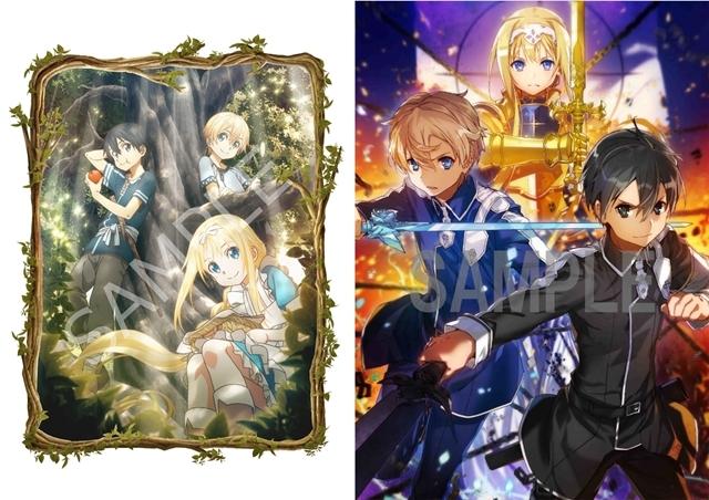『SAO アリシゼーション』BD&DVD第1巻、1月30日発売決定