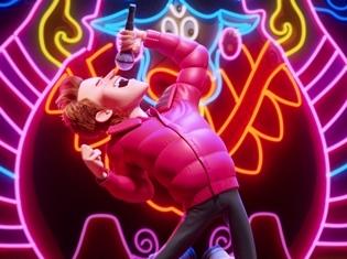映画『スモールフット』宮野真守さん演じるパーシーが劇中歌を熱唱する映像公開! ワイプでは宮野さんがパーシーにシンクロ!
