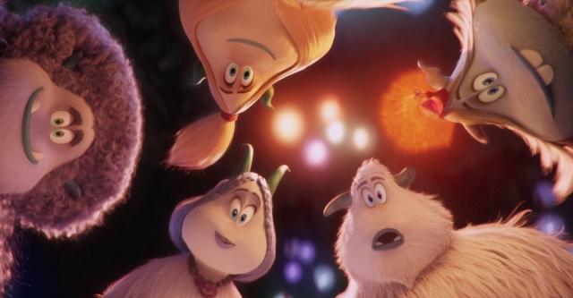 『スモールフット』にて、ジャイアンでお馴染み・木村昴さんが美声を披露! 主人公ミーゴがイエティの村を陽気に歌&ダンスで跳ね回る本編シーン解禁!-4