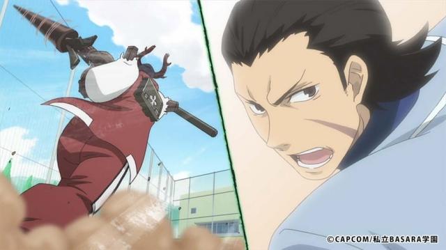 テレビアニメ『学園BASARA』より第5話「激突!Mr. BASARA」/「BASARAの鉄人は誰だ」のあらすじ&先行場面カットが到着!-3