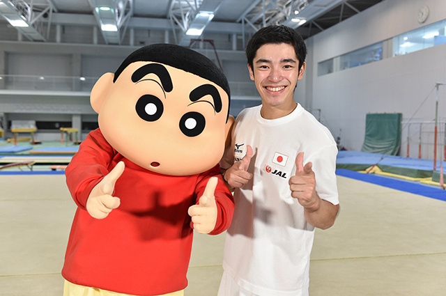 『クレヨンしんちゃん』×「世界体操」が夢のコラボ