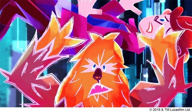 """『ハン・ソロ/スター・ウォーズ・ストーリー』MovieNEX発売を記念して、ルーカスフィルム公認の日本""""発""""ショート・アニメ映像2本解禁!-2"""