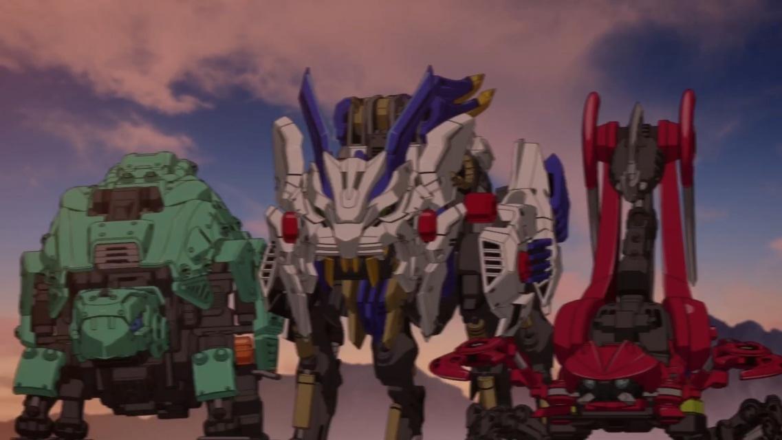 TVアニメ『ゾイドワイルド』第18話あらすじ&先行場面カットが到着! 用心棒をしているソースと再会したアラシ。そこへ怪しい影が動き出す……-9