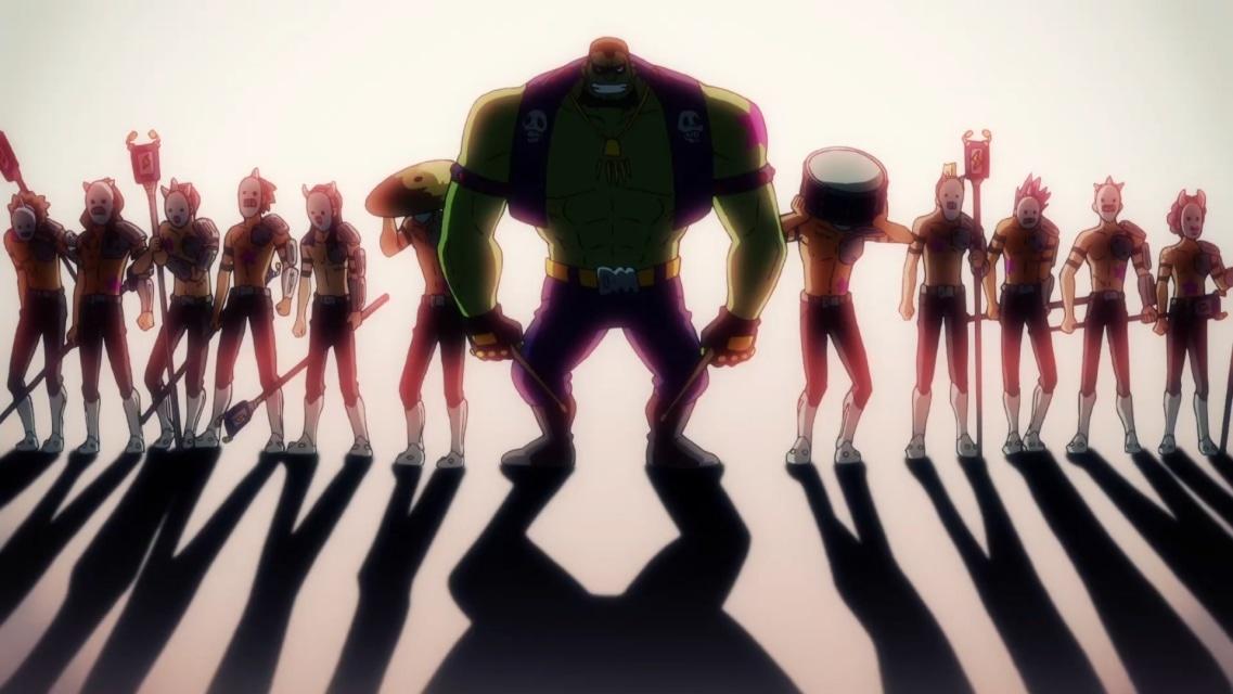 TVアニメ『ゾイドワイルド』第18話あらすじ&先行場面カットが到着! 用心棒をしているソースと再会したアラシ。そこへ怪しい影が動き出す……-19