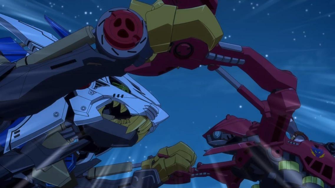 TVアニメ『ゾイドワイルド』第18話あらすじ&先行場面カットが到着! 用心棒をしているソースと再会したアラシ。そこへ怪しい影が動き出す……-20