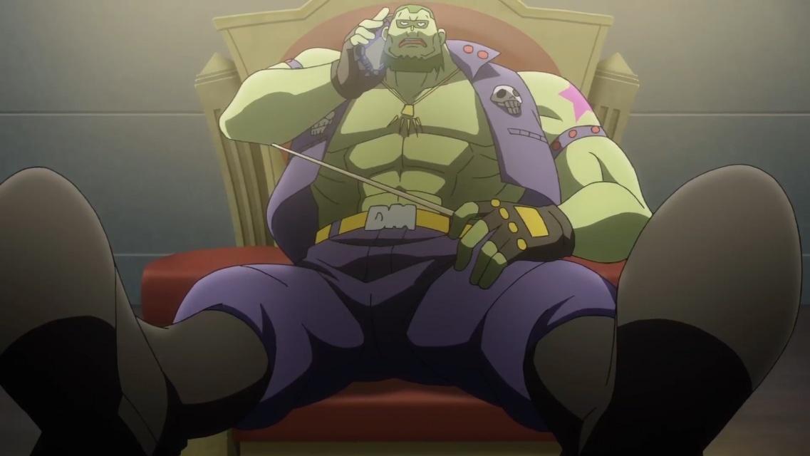 TVアニメ『ゾイドワイルド』第18話あらすじ&先行場面カットが到着! 用心棒をしているソースと再会したアラシ。そこへ怪しい影が動き出す……-25