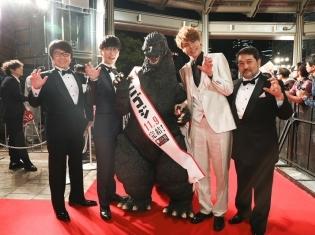 声優・宮野真守さんと櫻井孝宏さんがゴジラと共に登場! アニメ映画『GODZILLA 星を喰う者』東京国際映画祭の公式レポートが到着