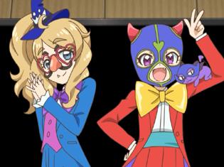 TVアニメ『キラッとプリ☆チャン』第30話先行場面カット・あらすじ到着!ハロウィンスペシャル大会の招待状が届くが、何か様子がちがっていて……