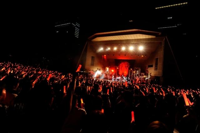 angelaが[全時間的至高]なライヴで全25曲を披露!ベストアルバムを引っさげた日比谷野音公演公式レポ到着!2018年開催のライヴ2公演を収録したBDも発売