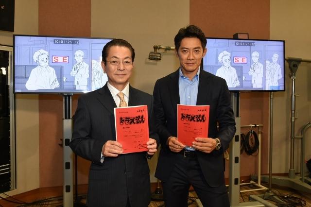 ▲(左)水谷豊さん(右)反町隆史さん