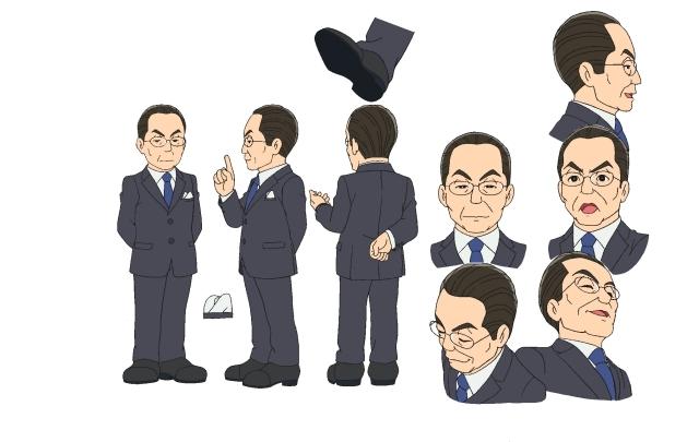 ▲杉下右京(声・水谷豊さん)