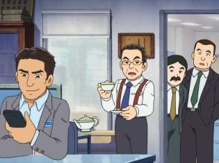 『ドラえもん』2018年11月9日放送回にドラマ『相棒』の二人が出演!水谷豊さん&反町隆史さんがアフレコに挑む