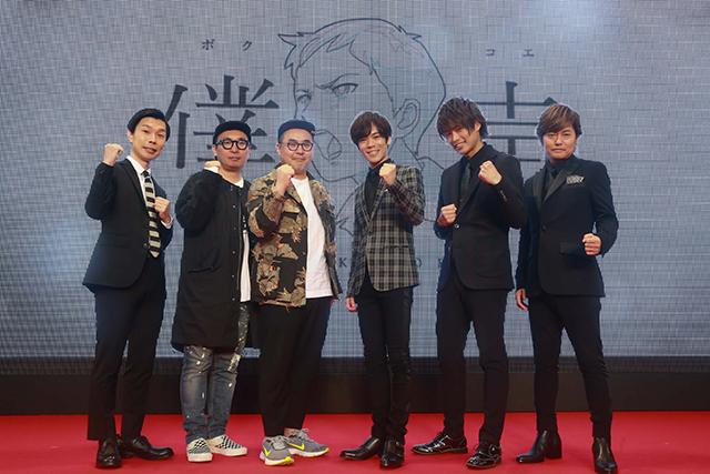 ▲左より岩井さん、住田さん、オークラさん、小野さん、濱さん、森久保さん